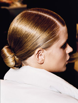 low ponytail prom hairstyles. back into a low ponytail.