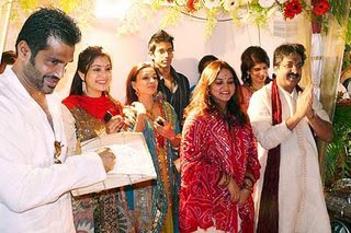 Celebrity Marriage Pictures Bollywood Actor Sanjaydutt Marriage Pictures