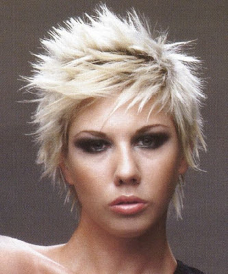 crazy hairstyles for women. Short and crazy hairstyle for