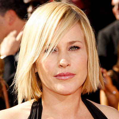 Celebrity Patricia Arquette's New nad Trendy Bob hairstyles