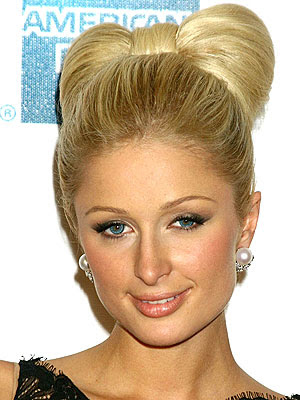 paris hilton short hairstyle. Paris Hilton Short Curly