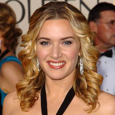 I love Kate Winslet Tousled curls, such a beautiful hairstyle for women!