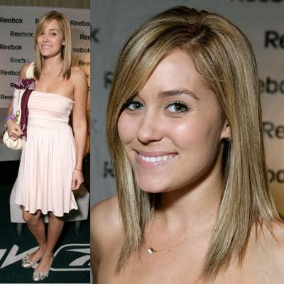 Lauren Conrad's Curly Short Hairstyle