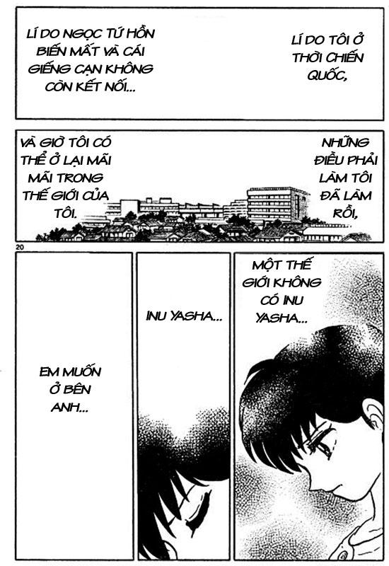 Inuyasha-Khuyển Dạ Xoa-Bản Đẹp chap 525 – End Trang 19