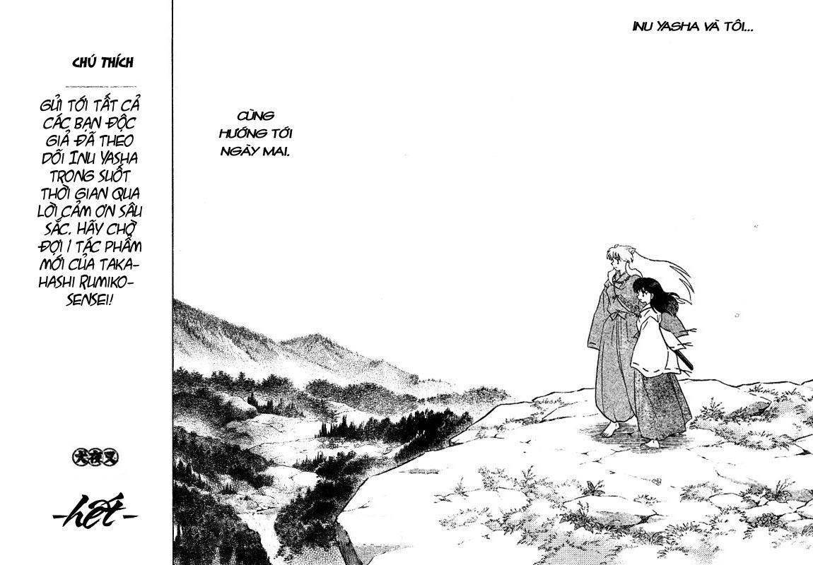Inuyasha-Khuyển Dạ Xoa-Bản Đẹp chap 525 – End Trang 35