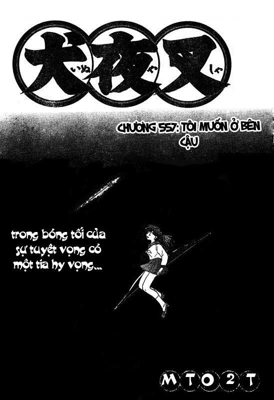 Inuyasha-Khuyển Dạ Xoa-Bản Đẹp chap 524 Trang 1