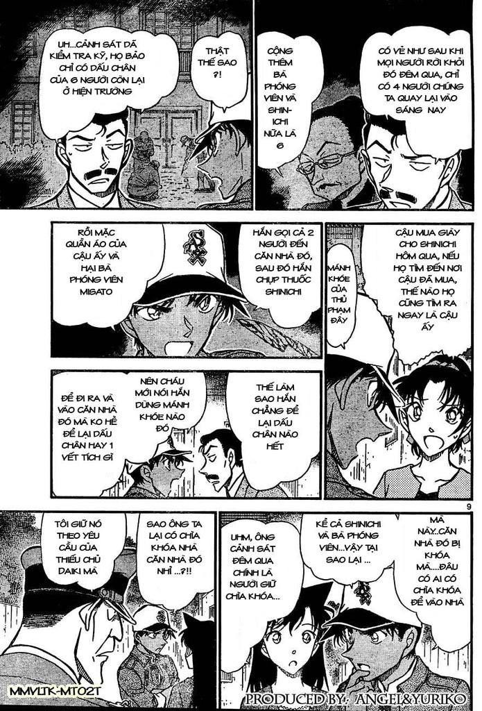 Detective Conan - Thám Tử Lừng Danh Conan chap 649 page 9 - IZTruyenTranh.com