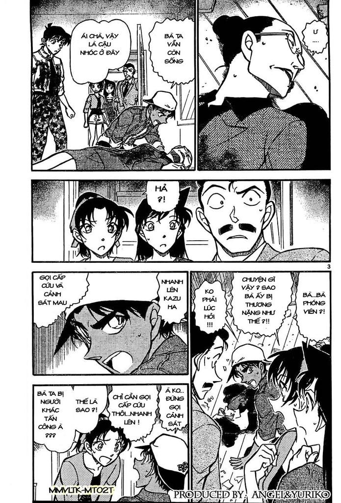 Detective Conan - Thám Tử Lừng Danh Conan chap 649 page 3 - IZTruyenTranh.com