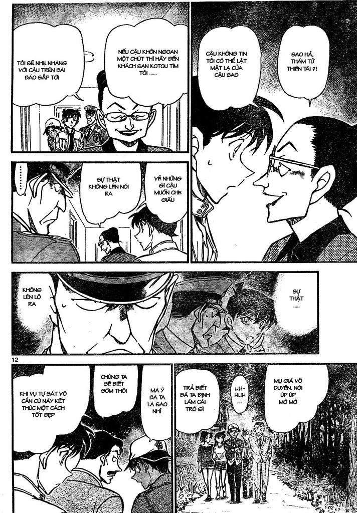 Detective Conan - Thám Tử Lừng Danh Conan chap 648 page 12 - IZTruyenTranh.com
