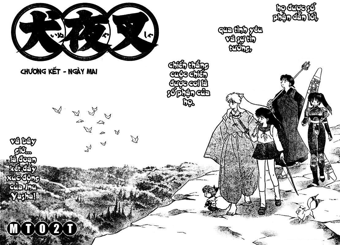 Inuyasha-Khuyển Dạ Xoa-Bản Đẹp chap 525 – End Trang 2