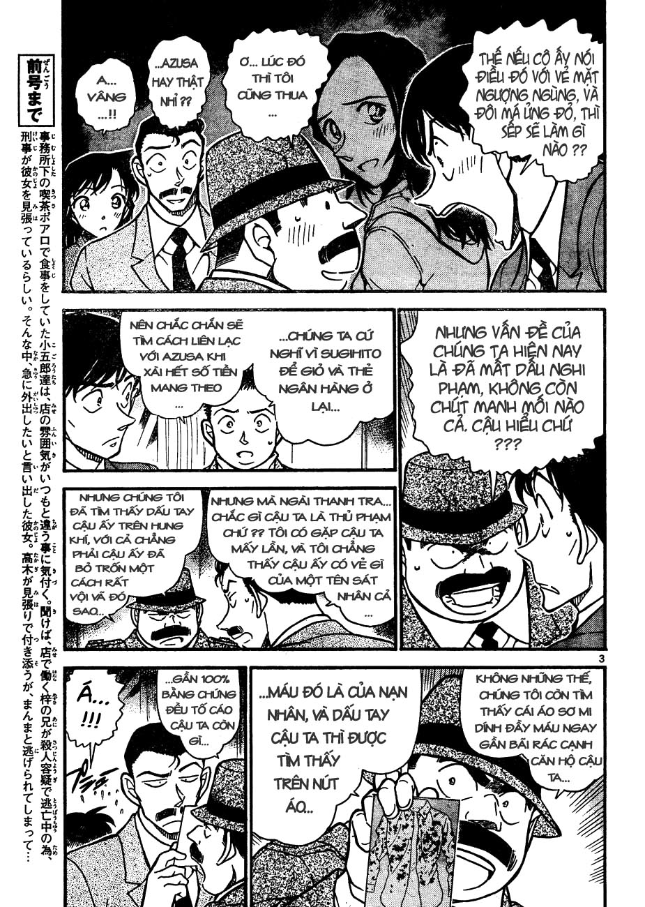 Detective Conan - Thám Tử Lừng Danh Conan chap 642 page 3 - IZTruyenTranh.com