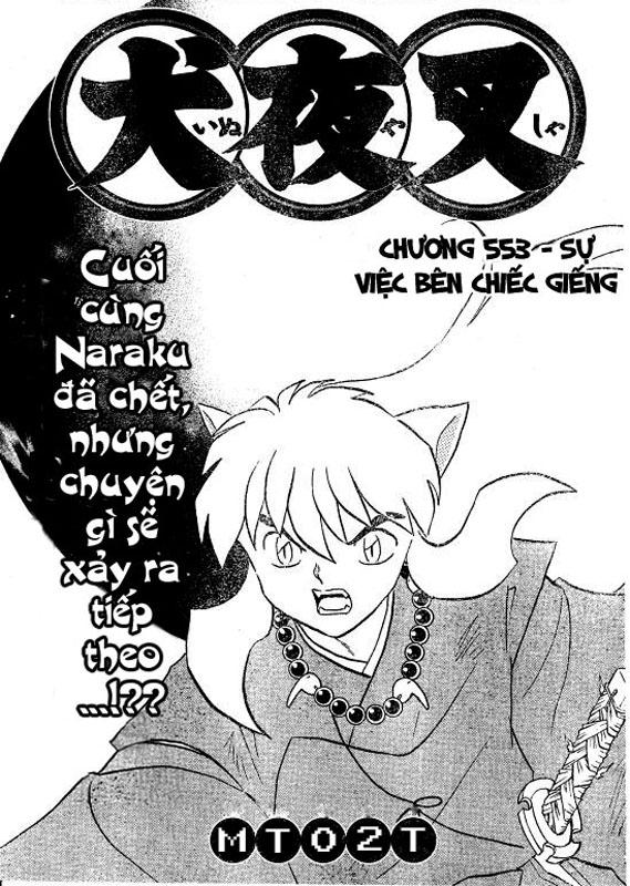 Inuyasha-Khuyển Dạ Xoa-Bản Đẹp chap 520 Trang 2