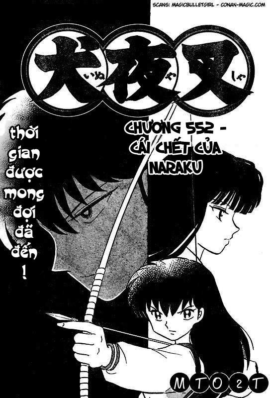 Inuyasha-Khuyển Dạ Xoa-Bản Đẹp chap 519 Trang 1