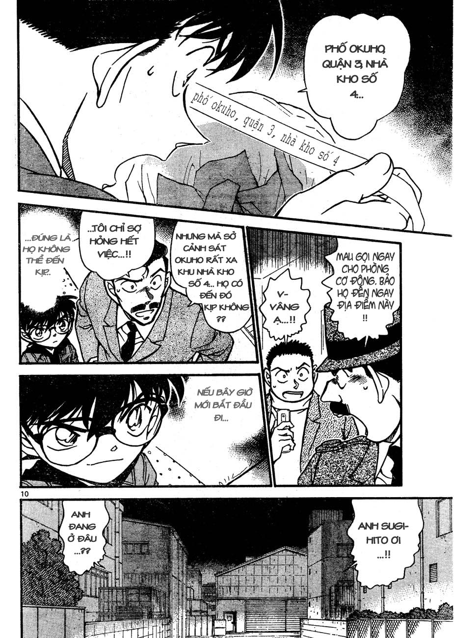 Detective Conan - Thám Tử Lừng Danh Conan chap 642 page 10 - IZTruyenTranh.com