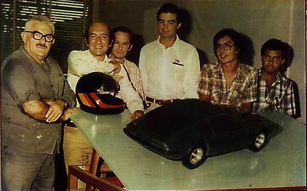 Equipe de projetistas do VW SP2