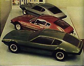 Modelos em escala reduzida do VW SP2