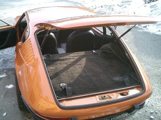 Porta-malas traseiro do Volkswagen SP2