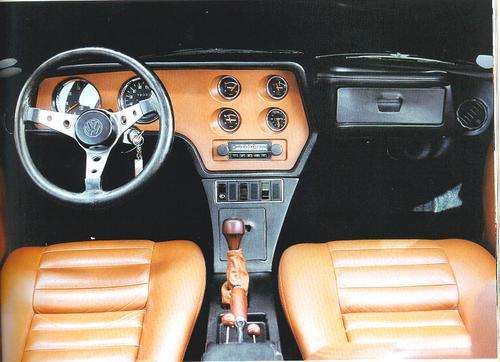 Painel do Volkswagen SP2