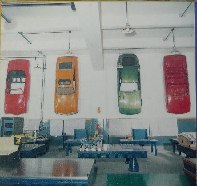 Oficina de ferramentaria da Karmann Ghia do Brasil