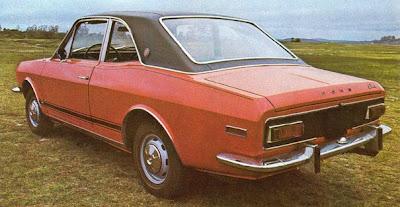 Corcel GT, 1969, modelo de 2 portas.