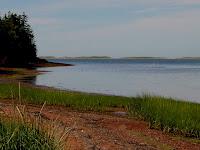 Seascape Chalet shoreline