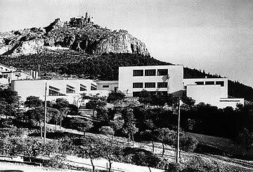 Δ.πικιώνης /σχολείο στα πευκάκια (1931-32)