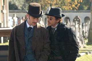 Robert Downey Jr. e Jude Law - Sherlock Holmes
