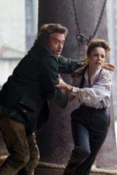Robert Downey Jr. e Rachel McAdams - Sherlock Holmes