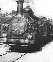 Trem chegando na estação - Irmãos Lumière