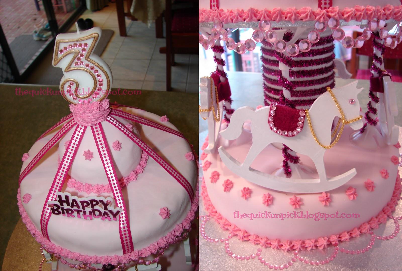 The Quick Unpick Beautiful Birthday Cakes Princesses a castle