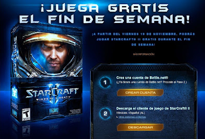 StarCraft II Wings of Liberty Gratis