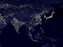 Asia at night ©NASA, 2000