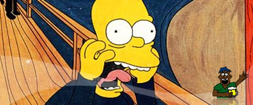 7 Obras de Arte no Estilo dos Simpsons