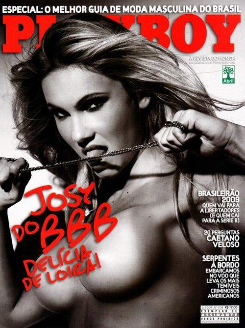 Josy BBB9 - Playboy de Maio Todas as Fotos