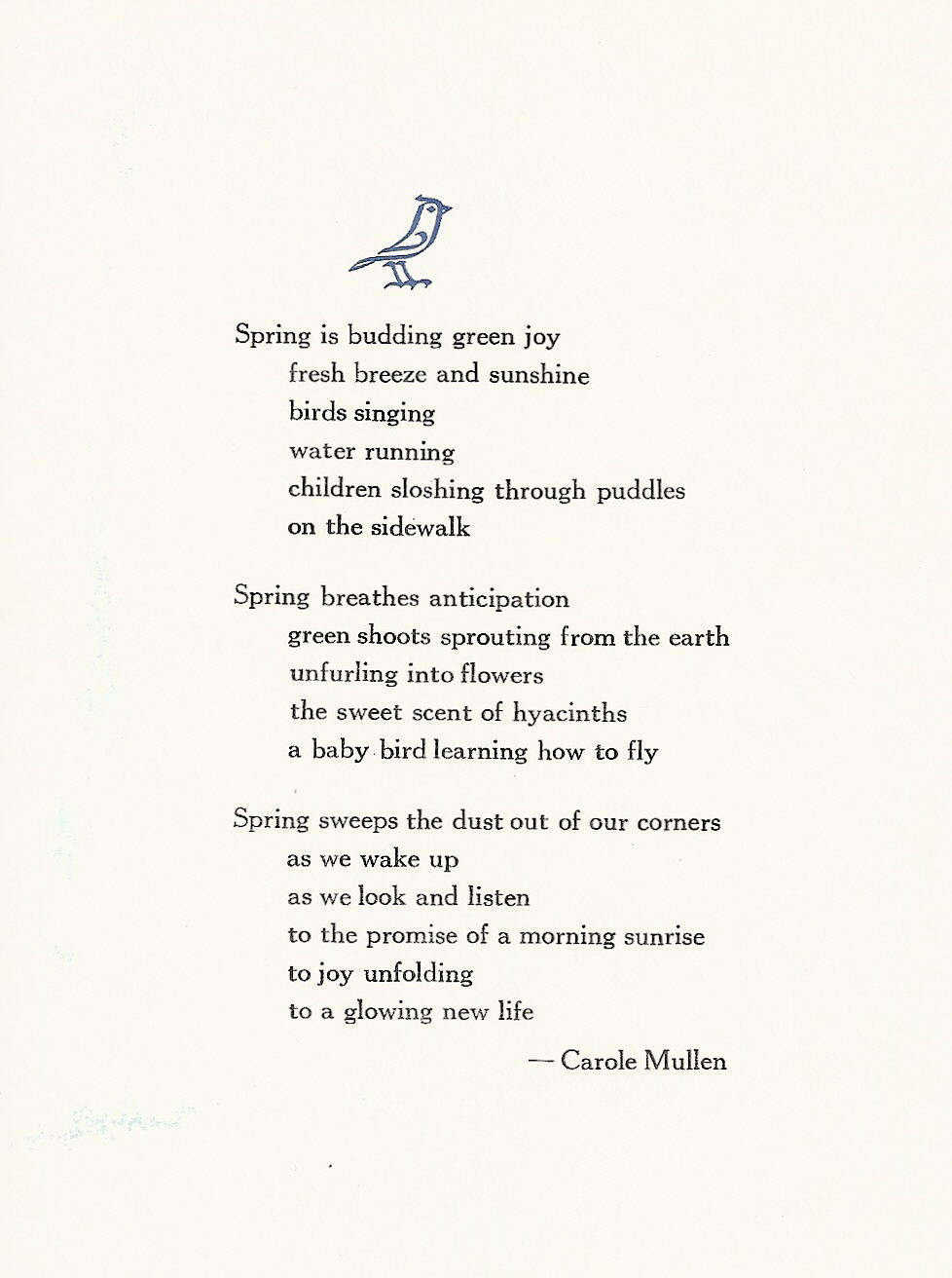 haiku poems about spring - photo #18