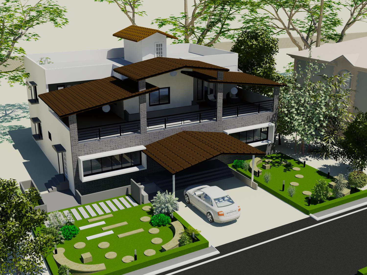 Ashwin architects villa projects in gated communities for Villa design plan india