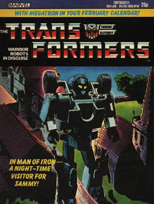 The Transformers issue #10 (UK)