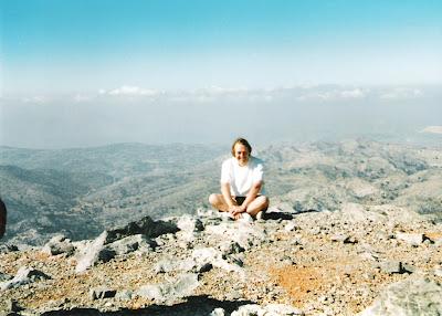 Steve Goble in Crete, 2003!
