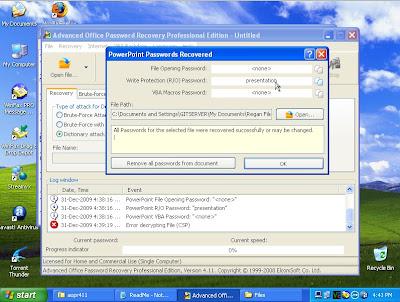 powerpoint password recovery crack keygen