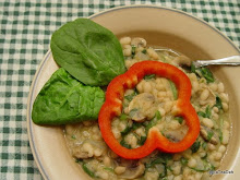 White Beans and Mushrooms