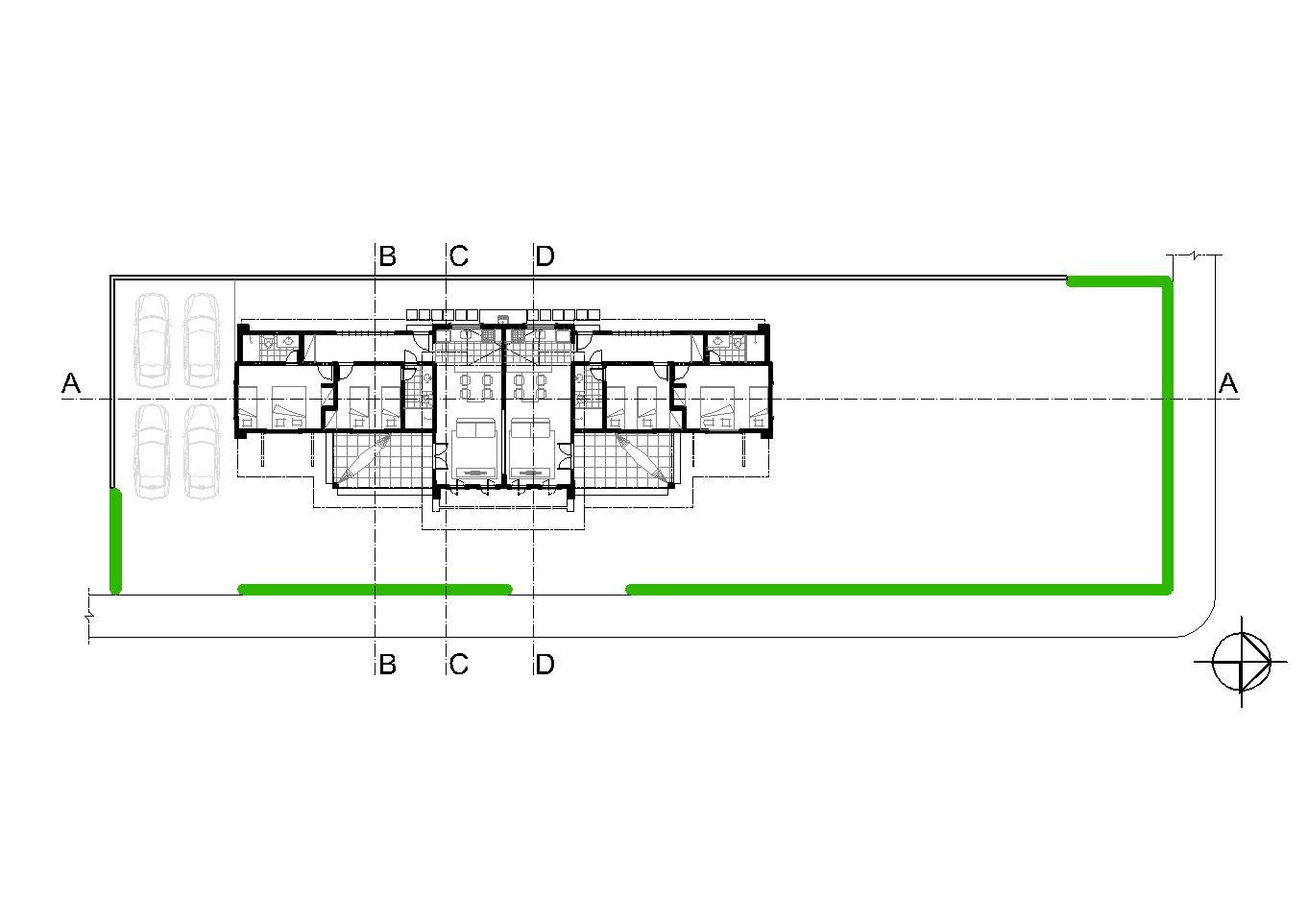 Planta Baixa Planta Baixa . 01 Quarto; 02 Banheiro; 03 Circulação  #2BB608 1362 962