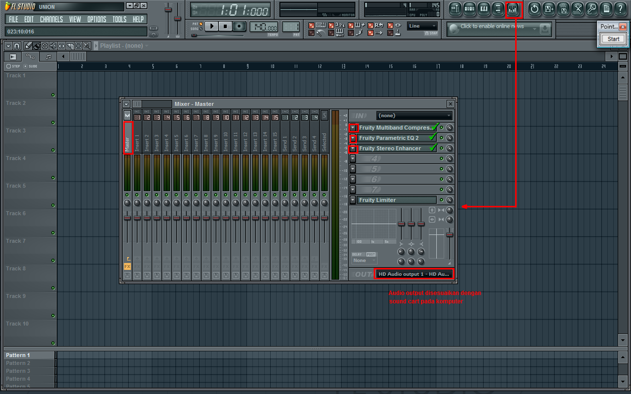 VIDIA MUSIC STUDIO: Belajar Software Recording FL STUDIO 9