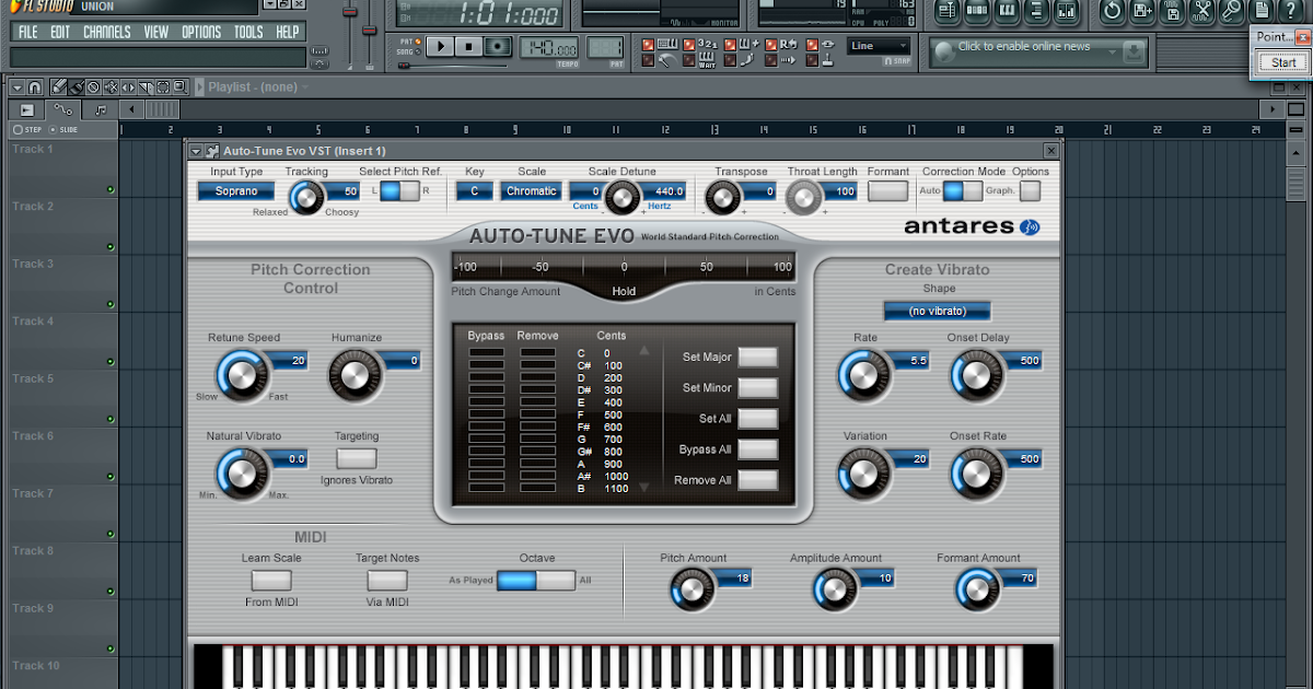 Cake Out Artinya : IchsanX: Antares Autotune (VST untuk ngedit vokal)