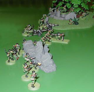 The Arcadian Battle Line