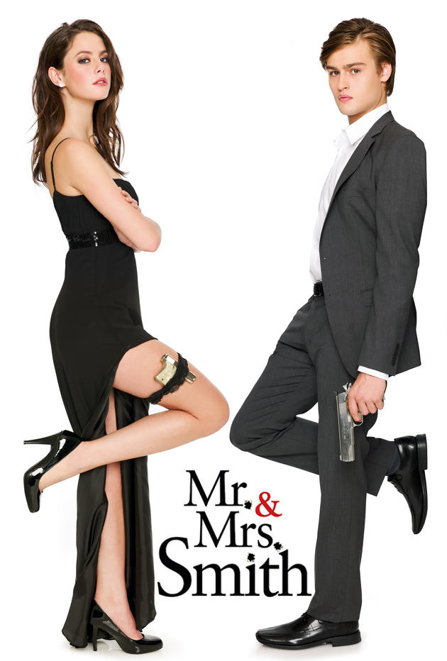 Douglas Booth Kaya Scodelario are Mrs Mrs Smith 2005