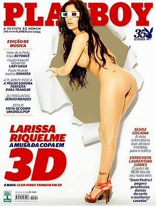 5f54a13bb247 Download Larissa Riquelme Playboy Completa – Setembro de 2010
