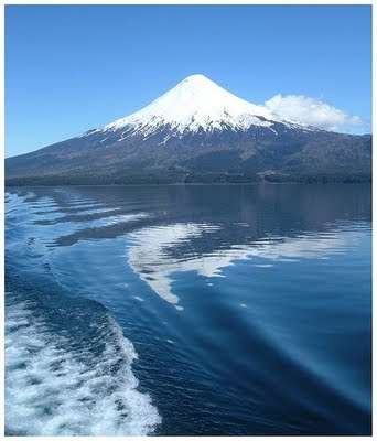 lake llanquihue volcano Osorno