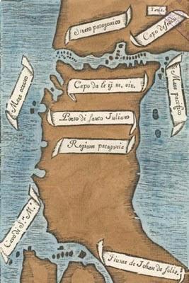 Pigafetta map