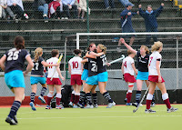 Women's Championships final: Hermes 1 Loreto 0 (after golden goal)