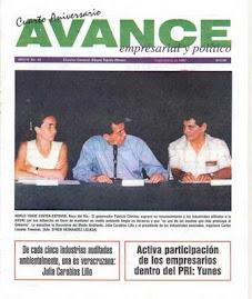 Revista Avance, uno de nuestros primeros proyectos